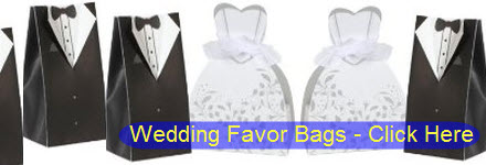 Bride Groom Wedding Dress Tuxedo Favor Boxes